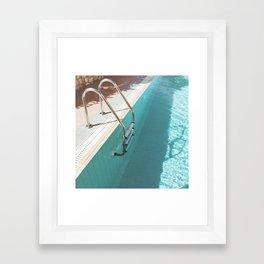 Swimming Pool IV Framed Art Print