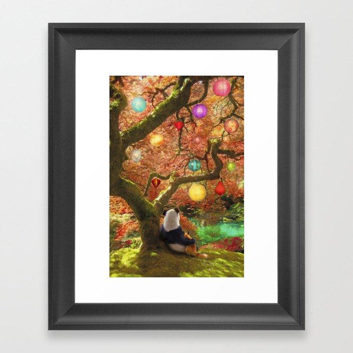 Best Friends Forever Framed Art Print by foxfires | Society6