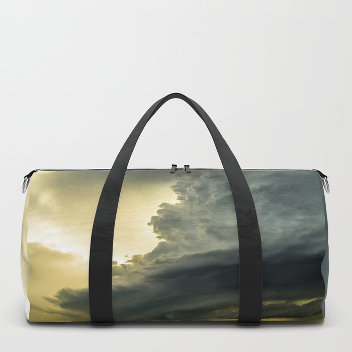 Supercell - Massive Storm Over the Great Plains Duffle Bag