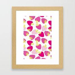Sweet Berries Framed Art Print