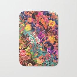 Floral and Birds II Bath Mat