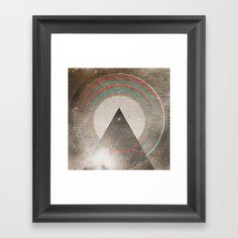 Stereo Induction Framed Art Print