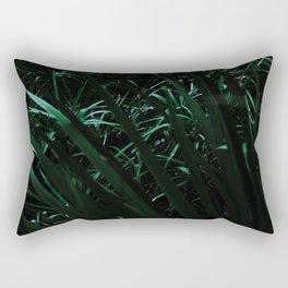 Grass blades basking in the sun - Abstract Rectangular Pillow