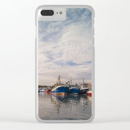 Irish landscape in Howth Clear iPhone Case