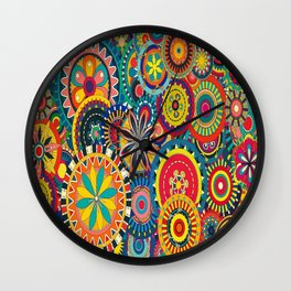Colours ! Wall Clock