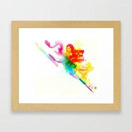 Lucid Dreaming Framed Art Print