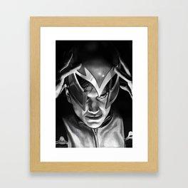 Rage and Serenity Framed Art Print