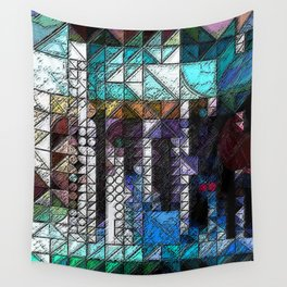 :: Portlandia :: Wall Tapestry