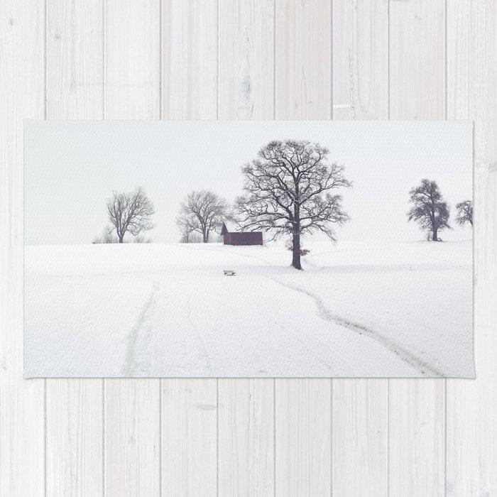Winter Scene Rug