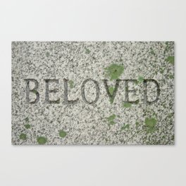 BELOVED Canvas Print