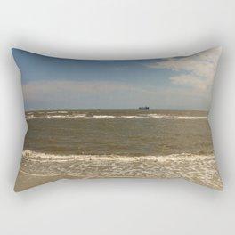 St Simons Island Beach Rectangular Pillow