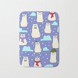 Polar bears Bath Mat