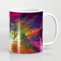 chaos Mugs featuring Chaos by Robin Curtiss