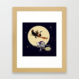 Witches' Familiars? Framed Art Print