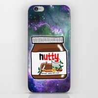nutella iPhone & iPod Skins featuring NUTELLA by SteffiMetal