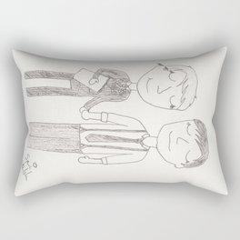 Stucky - the first day of art school Rectangular Pillow