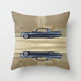 1961 Cadillac Fleetwood Sixty-Special Throw Pillow