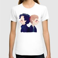 221b T-shirts featuring 221B by Nan Lawson