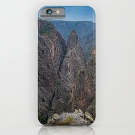 Storm Brewing at Cross Fissures View  at Black Canyon of the Gunnison iPhone Case