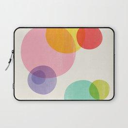 Rainbow Bubbles Laptop Sleeve