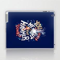 Hammer down Laptop & iPad Skin