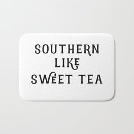 Southern like Sweet Tea Bath Mat