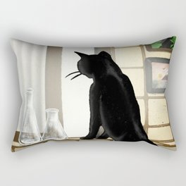 Out of the window Rectangular Pillow