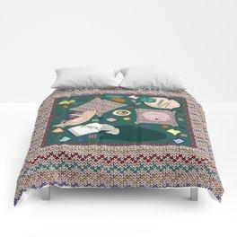 Hygge Kitten Comforters