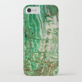 MINERAL BEAUTY - MALACHITE iPhone Case