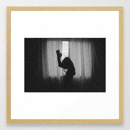 Be free. Framed Art Print