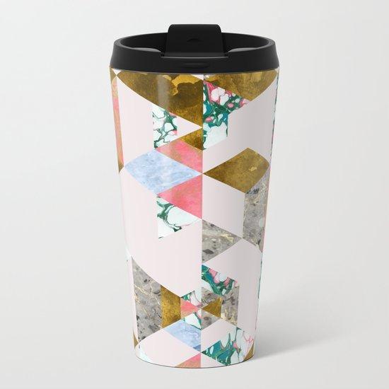 Geometry of Love #society6 #decor #buyart Metal Travel Mug