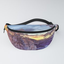 Icy Forest Awakens Fanny Pack