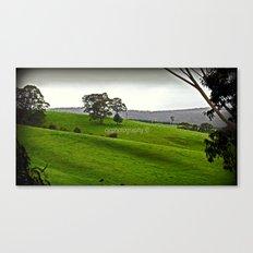 Green Pastures Canvas Print