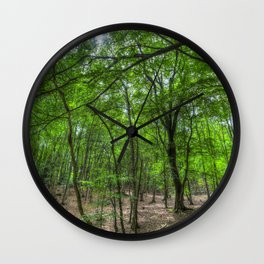 The Ancient English Forest Wall Clock