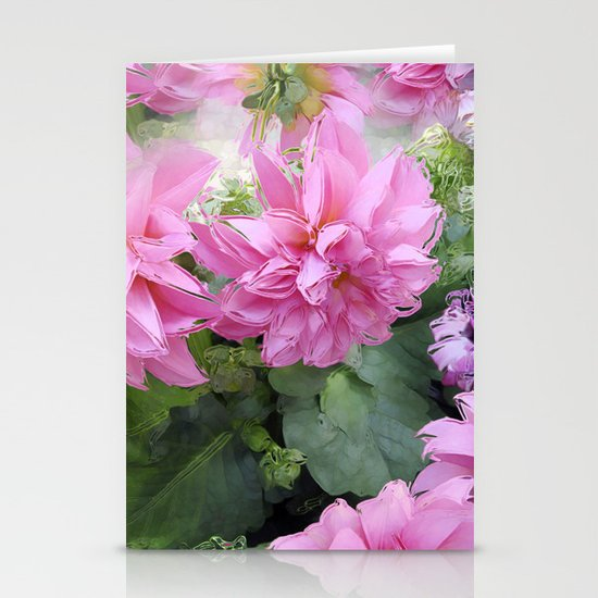Delicious Dahlia's Stationery Cards
