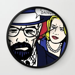 I Am the Danger Wall Clock