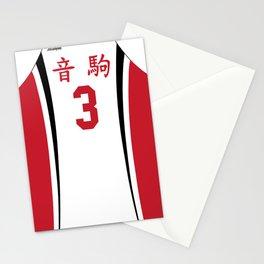 Yaku's Jersey Stationery Cards