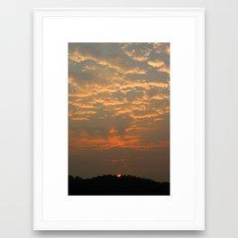 Good Morning Korea Framed Art Print
