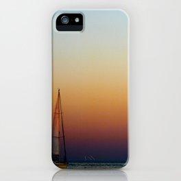 Single Sailboat iPhone Case