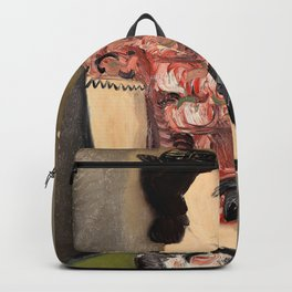 Helmut Kolle - Portrait of a young girl - Digital Remastered Edition Backpack