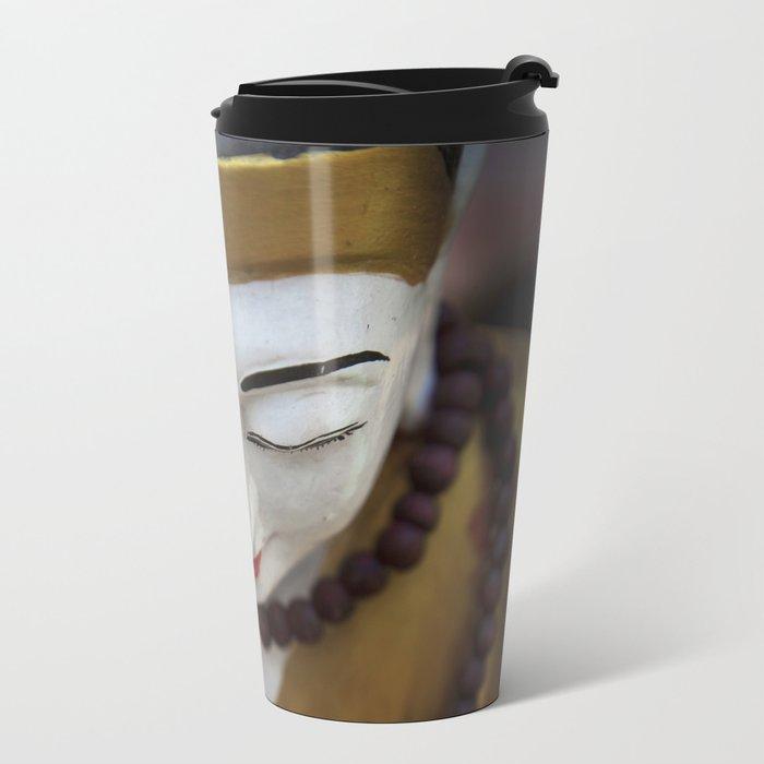 Buddha Metal Travel Mug