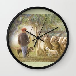 This Way Please .... Wall Clock