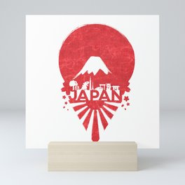 Sunrise in Japan Mini Art Print