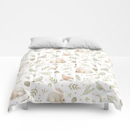 Cute Bunny patterns Comforters