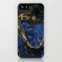 Vrubel Demon iPhone Case