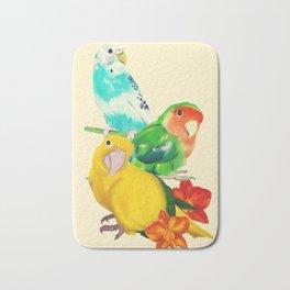 Beautiful Birds Bath Mat