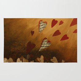 Lonely Heart Rug