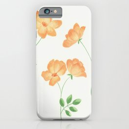 Butterscotch Roses iPhone Case