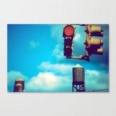 NYC Traffic Light Canvas Print