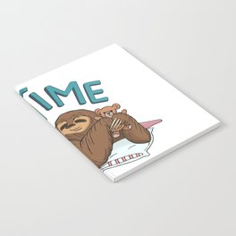 Nap Time Sloth Notebook